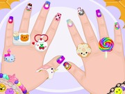 Baby Barbie Crazy Nails