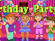 Baby Daisy Birthday Party