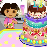 Dora Make Cake
