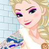 Elsa Gets Inked