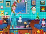 Elsa Xmas Room Decor