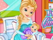 Frozen Anna Give Birth A Baby