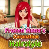 Frozen Anna's Coronation Hairstyle