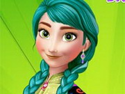 Frozen Elsa Fashionable Makeover