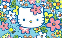 Hello Kitty And Bees