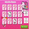 Hello Kitty Memory Free Game