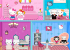 Hello Kitty Wedding Doll House Decor