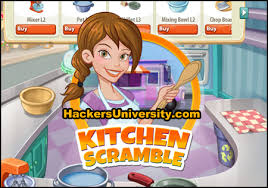 Kitchen Scramble Game